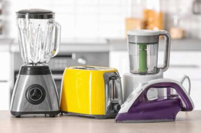 Listado de los electrodomésticos en tu hogar
